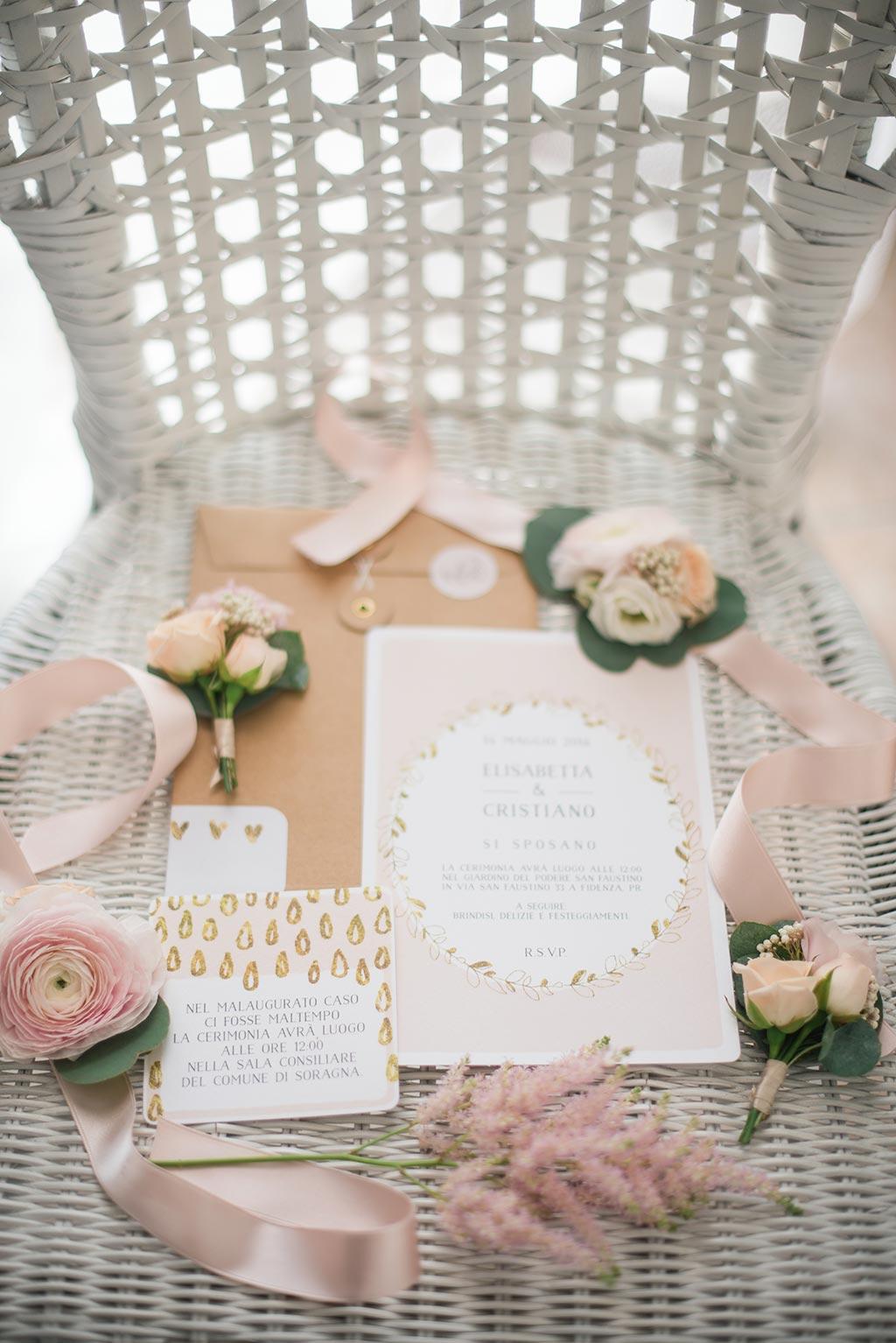 stationery per matrimonio  - vai al sito di il ghirigoro